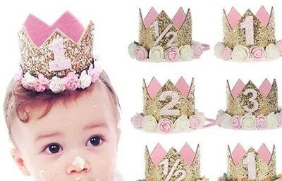 Geburtstagsdeko Baby Kleinkind Geburtstags Krone  Geburtstag Dekoration Party
