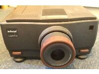 INFOCUS LITEPRO 580 LCD MULTIMEDIA PROJECTOR AND FLIGHT CASE - EXCELLENT CONDITION - £90 ONO