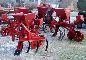 New Covington 1 Row Planting System with 3 Point, CAN SHIP CHEAP & FAST