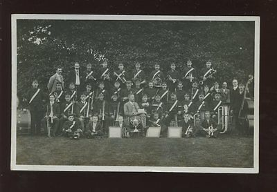 SALVATION ARMY Unidentified Band c1900s PPC Faults possibly Shepton Mallet area