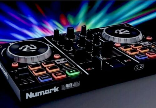 PartyMix 2 Channel ONE CHANCE SALE DJ Controller Newmark Mixer