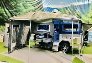 T-Rex X1 Off-Road Camper Trailer Forward Fold Sumner Brisbane South West Preview
