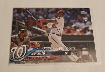 R56,935 - 2018 Topps Update #US104 Juan Soto Rookie Nationals
