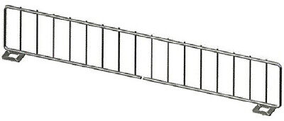 Streater Only Gondola Shelf Divider Fence Made In Usa 15 X 3 Lot Of 50 New