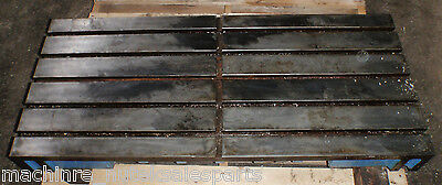 48.75 X 21.50 X 5 Steel Welding T-slotted Table Cast Iron Layout Plate 5 Slot