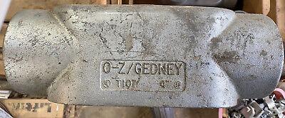Oz Gedney T107 4 Iron Cond Body Type T