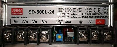 Meanwell Mean Well Sd-500l-24 Dcdc Power Supply Voltage Converter 19-72v Input