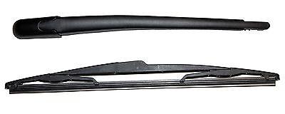 PEUGEOT 106 206 207 CITROEN SAXO REAR WINDSCREEN WIPER ARM AND BLADE SET NEW