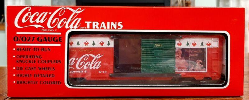 Coca-Cola Boxcar Train 1992 Christmas