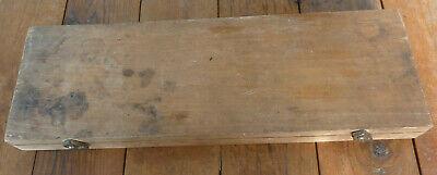 Spi Depth Micrometer 5 To 6 Wwood Box W 5 Measuring Rods 4 5 6 7 8