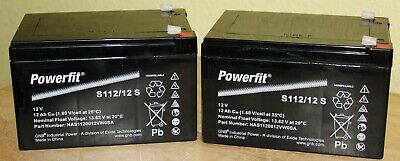 2 x NEW 12V 12AH Mobility Scooter Batteries, PRIDE GOGO, LX, APEX, SHOPRIDER *