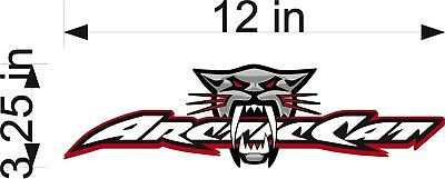 Snowmobile  High Quality! Wall Art Arctic Cat Decal #1 Truck Trailer