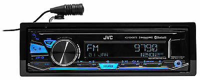 JVC KD-X340BTS Single-Din Car Digital Media Bluetooth Receiver, USB/AUX/SiriusXM
