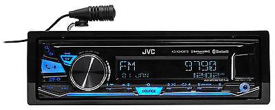 $69.86 - JVC KD-X340BTS Single-Din Car Digital Media Bluetooth Receiver, USB/AUX/SiriusXM