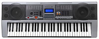TECLADO KEYBOARD ELECTRICO PIANO DIGITAL 61 TECLAS 100 SONIDOS & RITMOS USB...