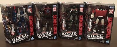 Transformers War for Cybertron Siege COG SKYTREAD SIDESWIPE HOUND 4 Deluxe - Sideswipe Transformers 4