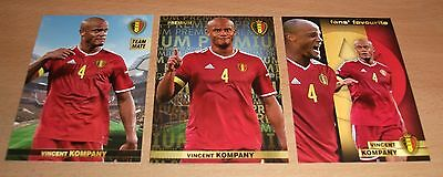 PANINI CARREFOUR LOT 18 42 122/180 - BELGIAN RED DEVILS TOUS ENSEMBLE - KOMPANY