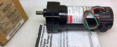 Dayton 2h561 Gear Motor 90vdc 110 Hp 139 Rpm 12.91 Ratio New In Box