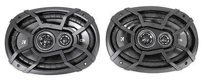 Pair Kicker 43Csc6934 6 X9  6X9 900 Watt 4 Ohm 3 Way Car Audio Speakers Csc693