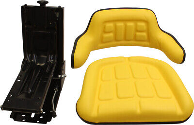Amss8094 Seat And Suspension Assembly For John Deere Tractors - See Description