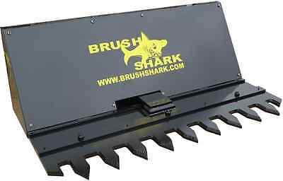 Tree Shear And Brush Cutter - Brushshark Skid Steer Attachment - 5 Manual Model