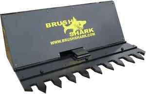 Tree Shear and Brush Cutter - Brushshark Skid Steer Attachment - 5' manual model