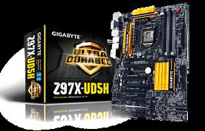 GIGABYTE GA-Z97X-UD5H Rev.1.0 *D.O.A* Not working (Brand New) Wanniassa Tuggeranong Preview