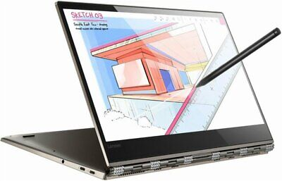 """Lenovo Yoga 920 2-in-1 Intel Core i7-8550U 8GB RAM 256GB SSD 13.9"""" FHD Touch W10"""