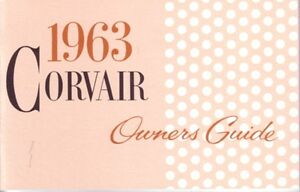 1963-Chevrolet-Corvair-Owners-Manual-User-Guide-Reference-Operator-Book-Fuses