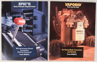 2 Wabco  Westinghouse Air Brake Co   Brochures   Epic Ii   Vaporid   1996  1997