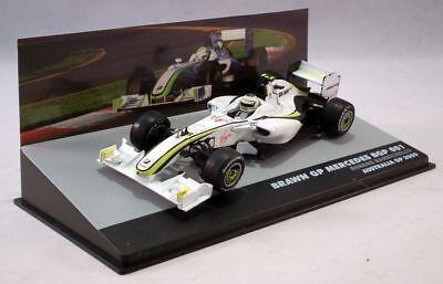 Brawn GP Mercedes BGP 001 - Barrichello - P3 - Australia GP - 2009,F1 Cars, 1/43