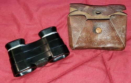 Vintage 1930s Bausch & Lomb 3X Binoculars Opera Glasses