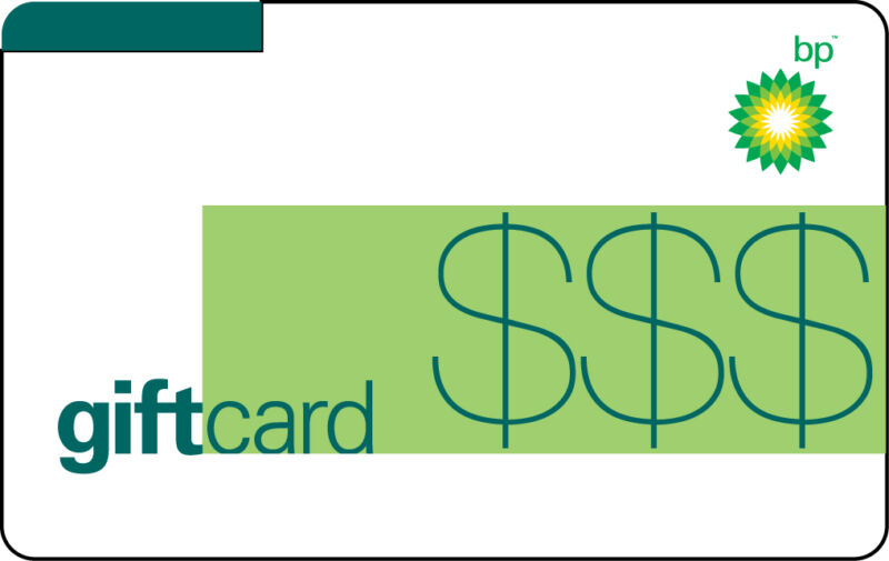 $100 BP Gas Gift Card For Only $94! - FREE Mail Delivery