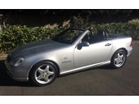 AMG MERCEDES BENZ 230 SLK CONVERTIBLE SERVICE HISTORY LOW MILEAGE EXCELLENT CONDITION AUTO AMG SLK