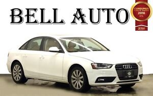 2013 Audi A4 2.0T PREMIUM PLUS LEATHER SUNROOF