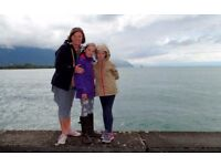 Au-pair needed in French Alps, British family. Age 22+ with driving license. Early Jan - mid April.