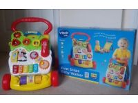 VTech First Steps Baby Walker in great condition with Box