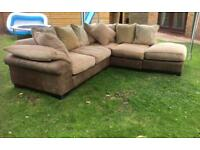 Dfs large corner sofa
