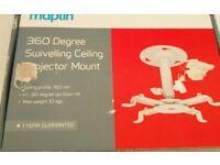 Maplin 360 degree swivelling ceiling projector mount
