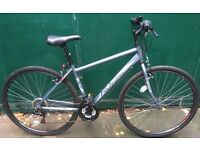 18 inch Falcon lightweight Alloy hybrid bike Slick tyres Town city bicycle