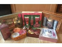 new & unused Purfume & gift sets -extracts collection, accessorize, st moriz instant tan, etc