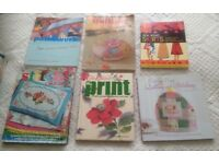 Job Lot Bundle of 12 Craft Books - Sewing, Knitting, Crochet, Quilting, Patchwork