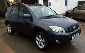 BARGAIN FACELIFT 2006 Toyota Rav 4 Rav4 2.2 XT4 DIESEL 4x4 140k FULL HIST, 12 mths mot, Leather