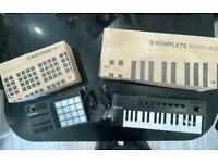 Native Instruments Maschine Mikro MK3 + M32 midi keyboard