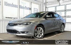 2015 Chrysler 200 Limited + CAMÉRA DE RECUL + BLUETOOTH
