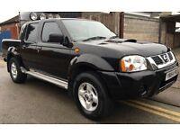 2005 NISSAN NAVARA 4X4 DOUBLE CAB PICK UP TRUCK 2.5 TD