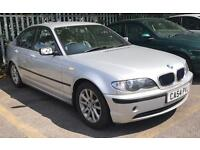 BMW 3 SERIES, 2005 54 PLATE, 2.0 LITRE DIESEL, SILVER