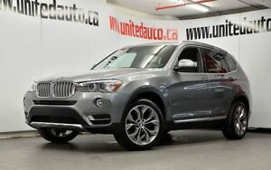 2016 BMW X3 HEADS DISPLAY NAV PANO ROOF VENDU-SOLD