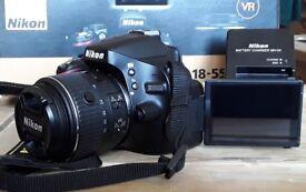 Nikon D5100 Digital DSLR Camera with Nikkor 18-55mm VR II Lens