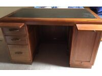 Baldock and sons ltd 1940s desk